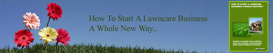 How to start a lawn mowing business